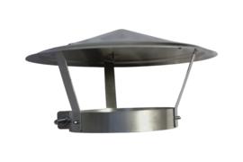 Regenkap RVS   190 - 200 mm CKA69