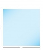 Cracked design glas kachelvloerplaat vierkant 900 x 900 x 15.50mm