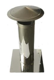 Schoorsteen verlengingselement 125mm
