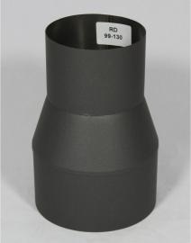 Verloopstuk 99 - 130 ( Zwart )