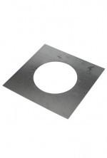 DW/150 Brandseparatieplaat Plat - Zwart