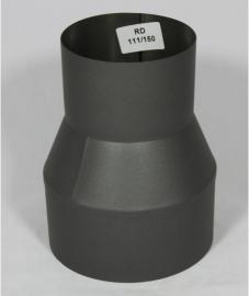 Verloopstuk Isotube 109 - 150 ( Zwart )