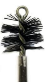 Nylonborstel Zwart