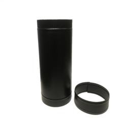 DW150/200 mm pijp 50 cm lengte ZWART CAM5-B