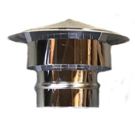 EW/Ø150mm Trekkap met gaas