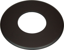 EWØ150 Rozet Groot 9cm (Kleur: Zwart)
