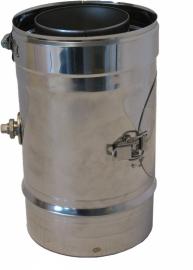 Thermovent DWL Ø130/200mm 25cm pijp incl. inspectieluik en meetpunt