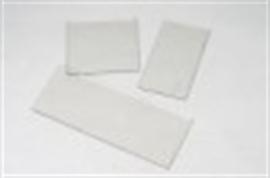 Kachelruitje vuurvast glas  0-500 cm2 (vierkante centimeter)