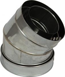 concentrisch bocht 30° graden Ø100-150mm DH126105