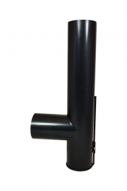 Roetzakpijp - Geblauwd 125 mm #HV105006
