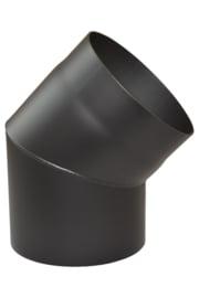 EW/125 2mm Bocht 45° graden - zwart