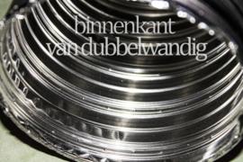 Schoorsteen renovatie pakket - compleet 10 mtr Flex Dubbel 150mm