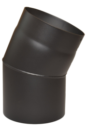 EW/125 2mm Bocht 22° graden - zwart
