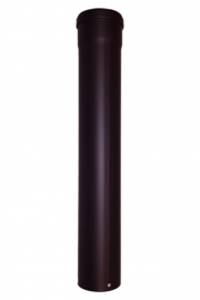 Pelletkachel pijp 50 cm ∅ 80mm Kleur ANTRACIET #CAM124723