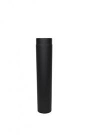 EWØ150 2mm  pijp 50 cm - Zwart