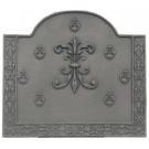 Haardplaat Louis XIII gietijzer groot #DH512245