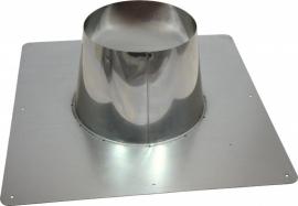 concentrisch dakplaat plat 0°-10°graden Ø100-150mm DH126123