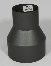 Verloopstuk 99 - 150 ( Zwart )