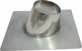 concentrisch dakplaat hellend 5°-25°graden Ø100-150mm DH126124