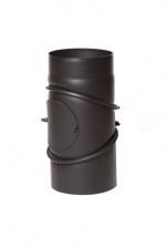 DRC EW/150 2mm Bocht  verstelbaar 3 delige met luik (Kleur: Antraciet grijs )