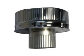 DW100/200mm Onderaansluitstuk naar 100 mm CAM51