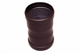 Pelletkachel koppelstuk/mof  uitwendig ∅ 80mm #19-520