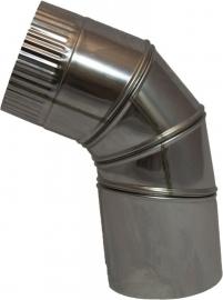 Thermokrimp Ek Ø130mm  - Bocht 90°  verstelbaar #EK130012V