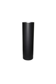 EW/Ø100mm Kachelpijp 50cm Kleur: zwart #DUN700013