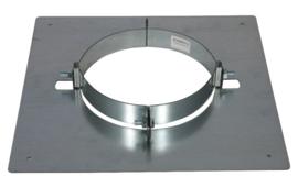 ISOTUBE Plus verdiepingondersteuning  Ø150mm gegalvaniseerd