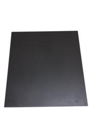 32-501TR  2mm Staalvloerplaat Rechthoek 660 x 800 antraciet