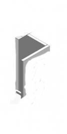 Achterwand Multi 50B x 100H Grijs of Geel