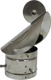 Gek rvs instelbaar 80-130mm #DH180260