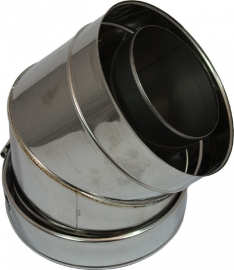 concentrisch bocht 45° graden Ø130 -200mm