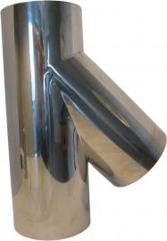 Thermokrimp Ek Ø180mm  - T-stuk 45° met deksel #EK180007