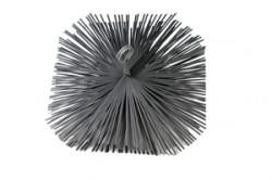 Staalborstel vierkant 20 x 20cm