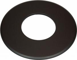 EW/180 Rozet groot 9cm (Kleur: Zwart)