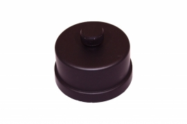 Pelletkachel condens dop voor t-stuk  ∅ 80mm #19-682