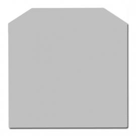 ZK20-801 2mm Staalvloerplaat zeskant - Antraciet 1000 x 1000