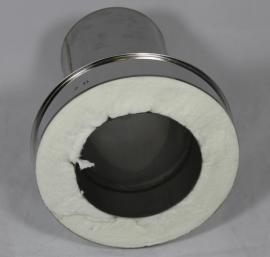 DW/Ø150mm Onder-aansluitstuk - lang (EW>DW)