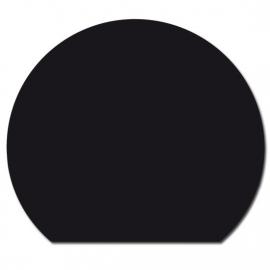 Nr 32-400 2mm Staal cirkelsegment - Zwart A:1100 x B:950 (C:740)