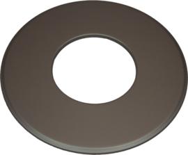 EW/130 Rozet Groot 9cm (Kleur: Zwart)