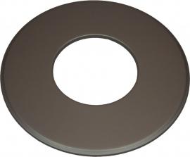 EW/180 Rozet groot 9cm (Kleur: Antraciet) #TER18-621