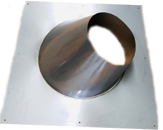 DW/Ø150-200 mm Dakplaat hellend 20° -  45°graden (Nieuw!!)