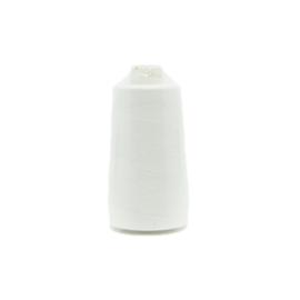 Polyester lock-/naaigaren gebroken wit