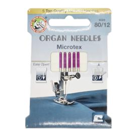 Organ Microtex machinenaalden 80