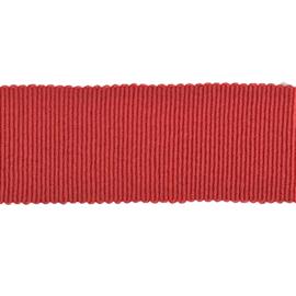 Ribslint grosgrain rood