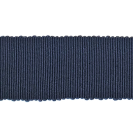 Ribslint grosgrain donkerblauw
