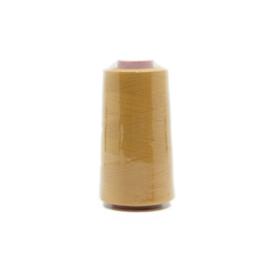Polyester lock-/naaigaren okergeel