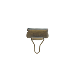 Tuinbroekhaken koper 4 cm