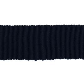 Ribslint grosgrain zwart